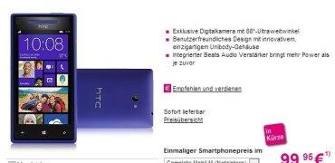 htc 8x -telekom