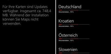 Karten und Nokia Karten Update
