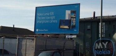 Nokia 928 Plakat