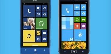 HTC 8XT Samsung ATIV S Neo