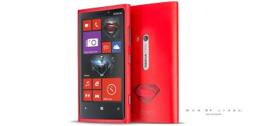 Nokia Lumia 920 Man Of Steel Cover Hülle