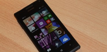Huawei Ascend W1 Windows Phone 8.1 Homescreen