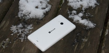 Microsoft Lumia 535 weiß white back