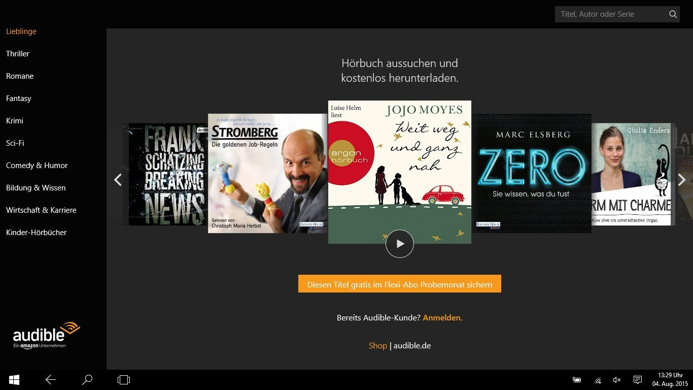 Audible App By Amazon Audible App