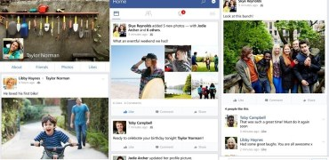 Facebook v10 - Screenshots