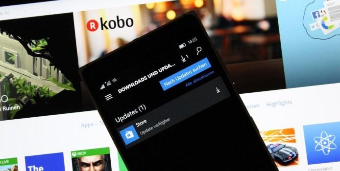 Update für den Windows Store unter Windows 10