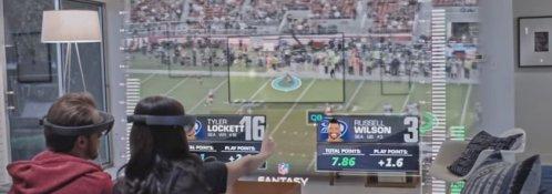 Microsoft HoloLens NFL Football