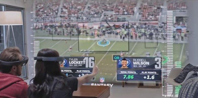 Microsoft und die NFL werfen einen Blick in die Zukunft des American Football