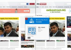 sky news vs sky news app studio