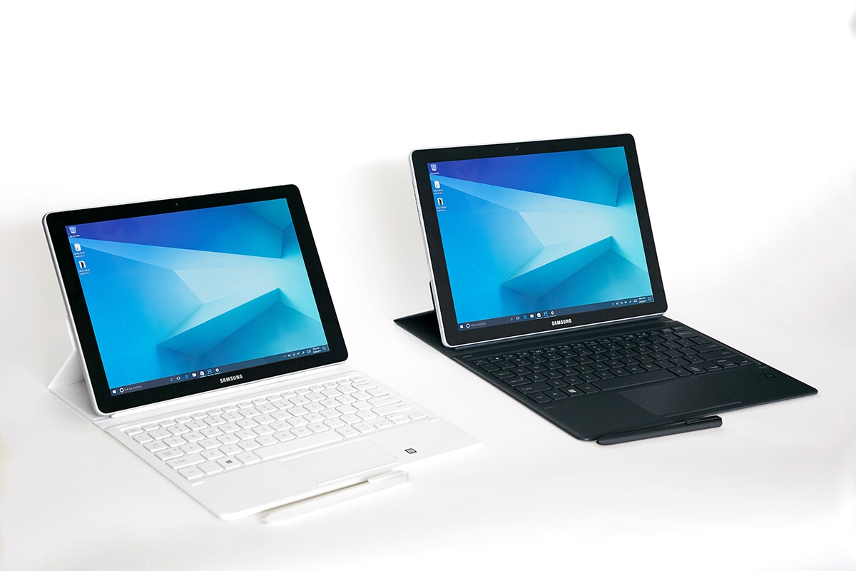 Der Tablet Samsung Galaxy Book 2 Neuen Windows 10 Tablet In Arbeit