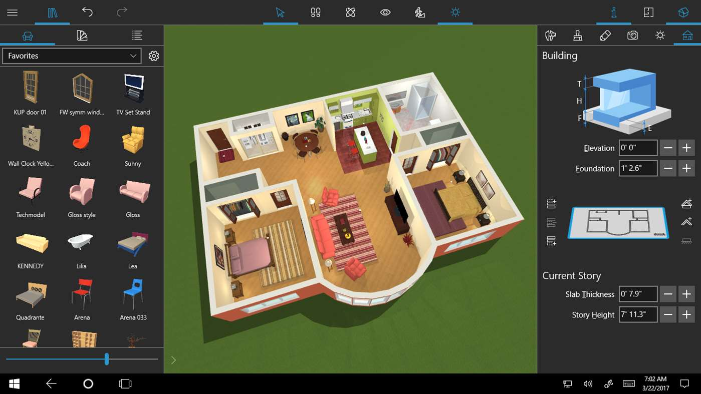 Home 3d Live Home 3d For Windows 10 Helps You Virtually Redesign Your