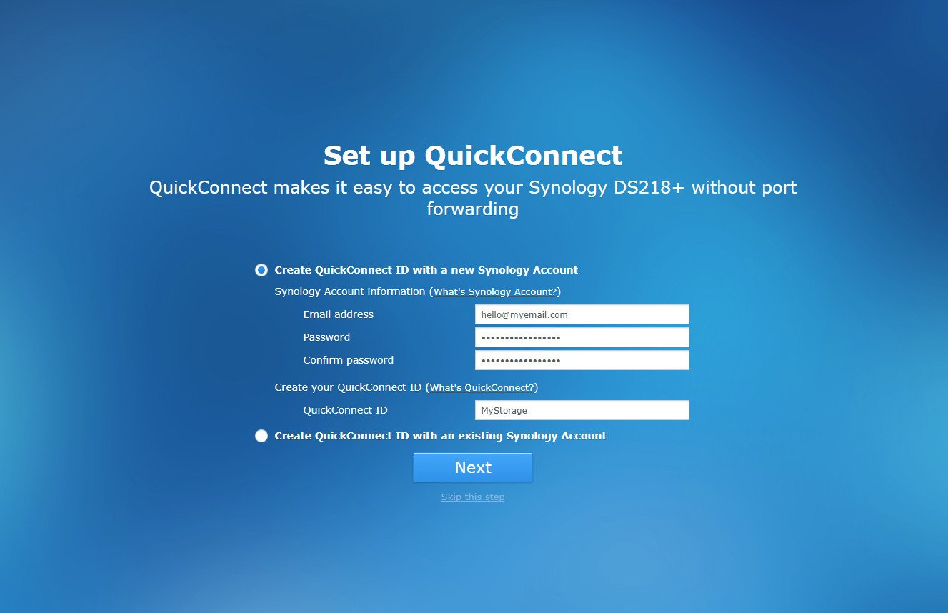 Einrichten Quickconnect How To Get Started With The Synology Ds218 Windows Central