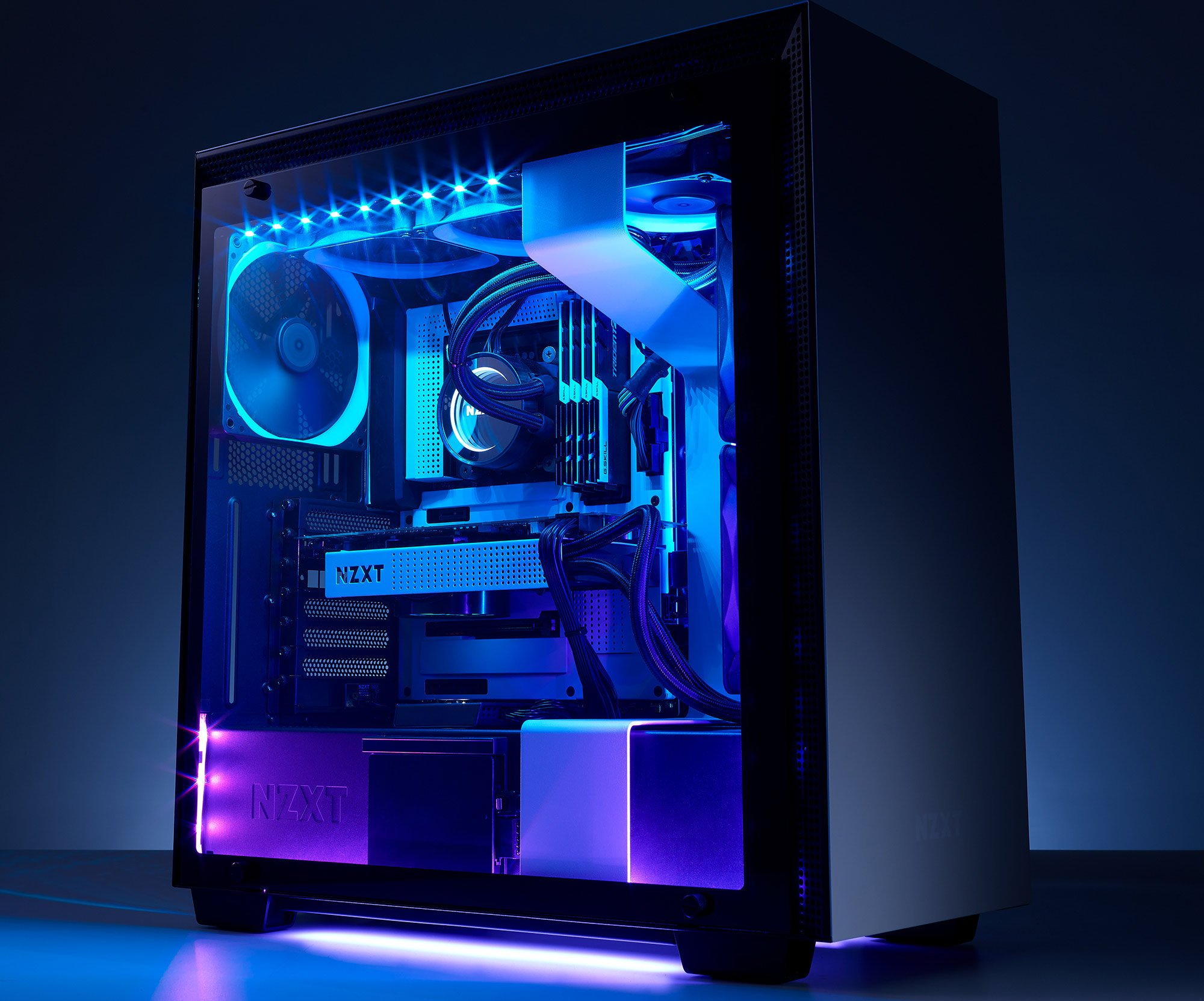 Lighting Rgb Nzxt Announces The Second Generation Of Hue 2 Rgb Lighting For