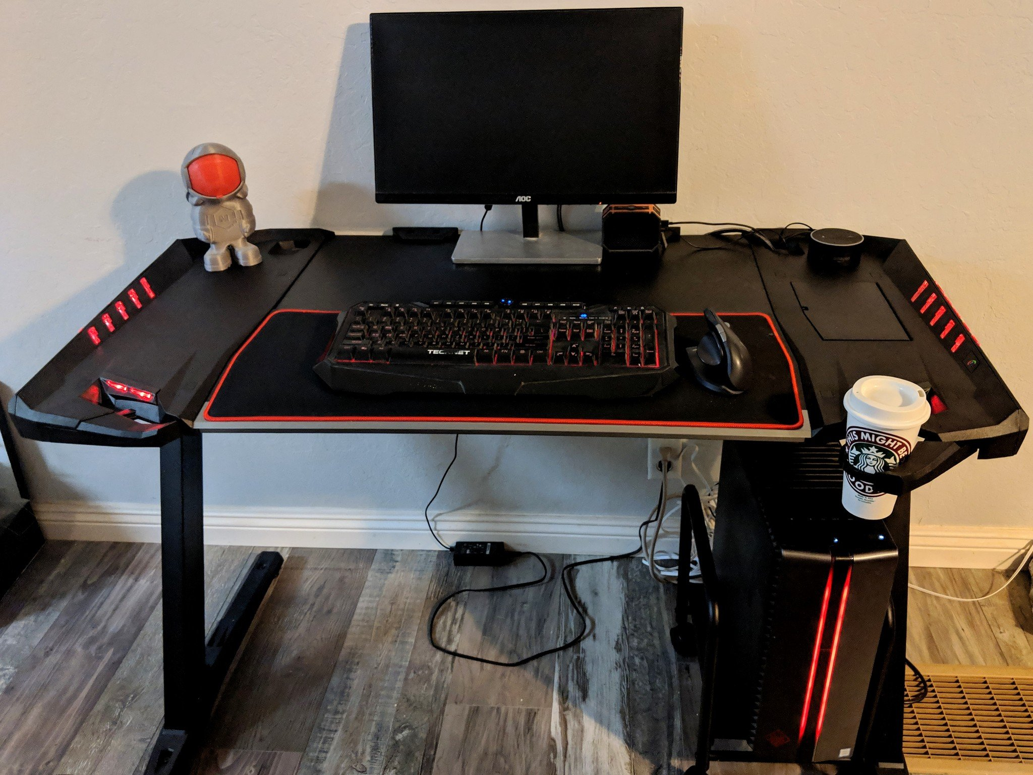 Computer Gaming Desk Eureka Z2 Gaming Desk Review Up Your Game And So Much More