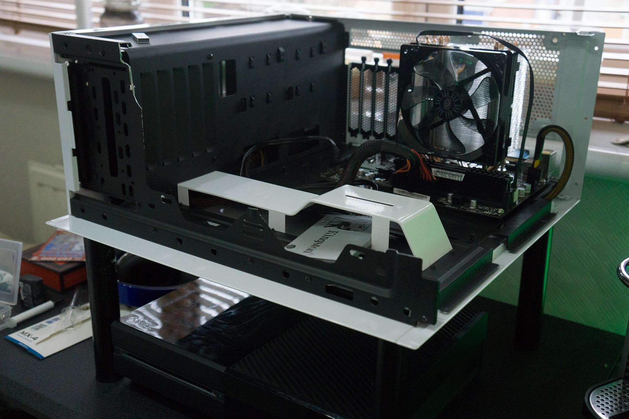 Metal Pc How To Turn An Old Pc Case Into A Test Bench And Save Money