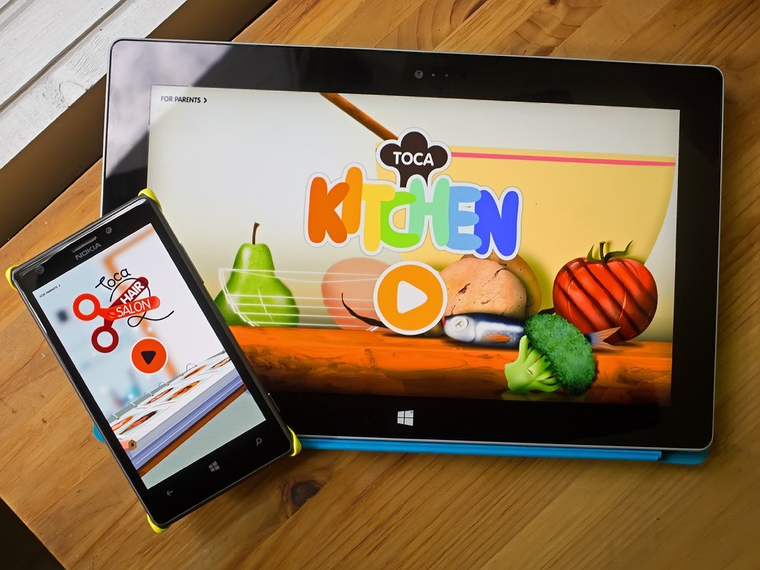 Toca Hair Salon Toca Kitchen And Hair Salon Two Toys For Windows Phone 8 And