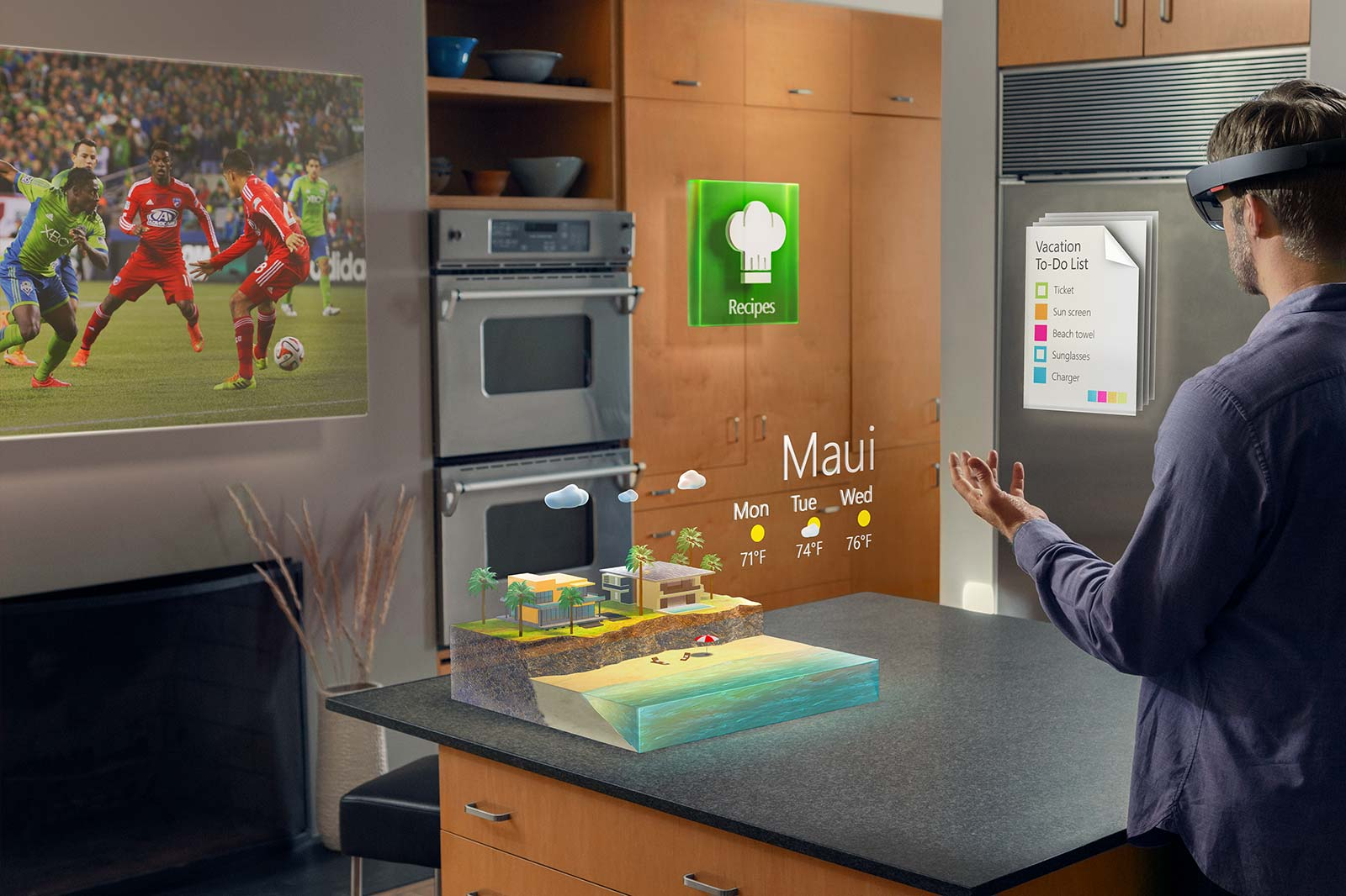 Smart Home Steuerung Smart Home Steuern Mit Der Hololens So Geht S Windowsunited