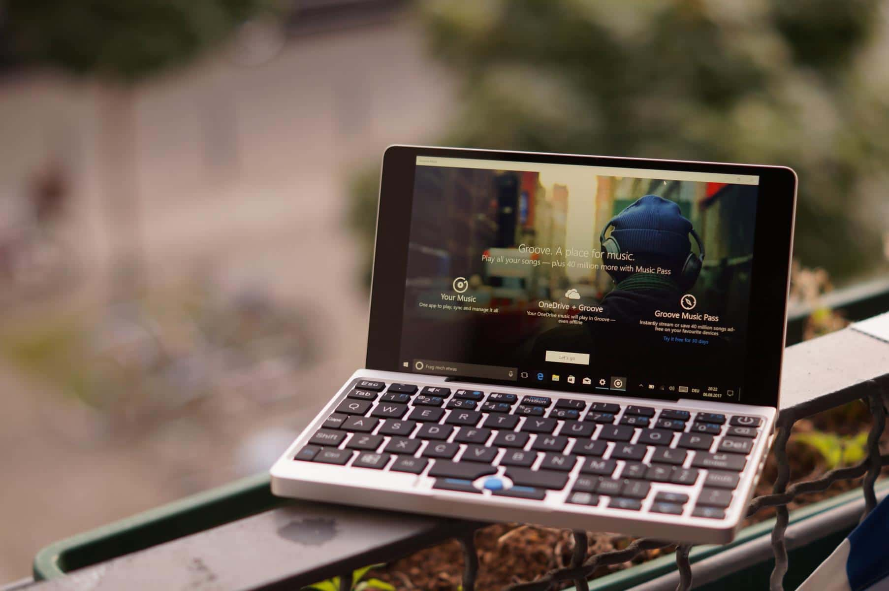 Kleines Laptop Test Gpd Pocket Mini Laptop Taugt Das 7 Zoll Windows 10