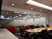 Conference Room Glass Frosting - Window Tint Z