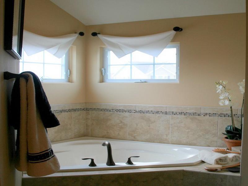 Small Bathroom Window Curtain Ideas Window Treatments Design Ideas - bathroom window curtain ideas