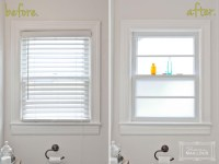 Bathroom Window Frosted Film | Window Treatments Design Ideas
