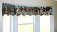 Contemporary Valances Window Treatments | Window ...