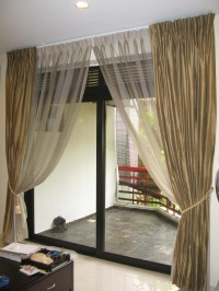 Curtain Rod Patio Door | Window Treatments Design Ideas