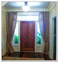 Front Door Window Treatments | Window Treatments Design Ideas