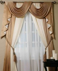 Scarf Valances Window Treatments | Window Treatments ...
