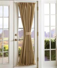 Sidelight Door Panel Window Treatments