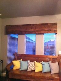 Wood Cornice Window Treatments | Window Treatments Design ...