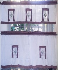 Country Style Kitchen Curtains And Valances | Window ...