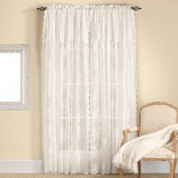Living Room Curtains With Attached Valance | Window ...