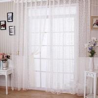 Sheer Scarf Valances For Windows | Window Treatments ...