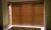 Wood Mini Blinds For Windows | Window Treatments Design Ideas