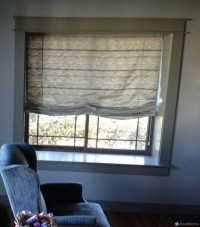 Double Roman Shades With Sheers | Window Treatments Design ...