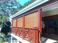 Outdoor Roll Up Porch Shades | Window Treatments Design Ideas