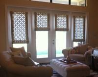 Roman Shade For Patio Door | Window Treatments Design Ideas