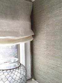 Sheer Roman Shades DIY | Window Treatments Design Ideas