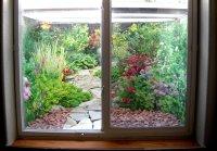 Decorative Window Well Liners - Over 24 decorative scenes