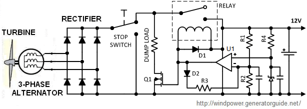 solar powered mobile phone battery charger circuit diagram