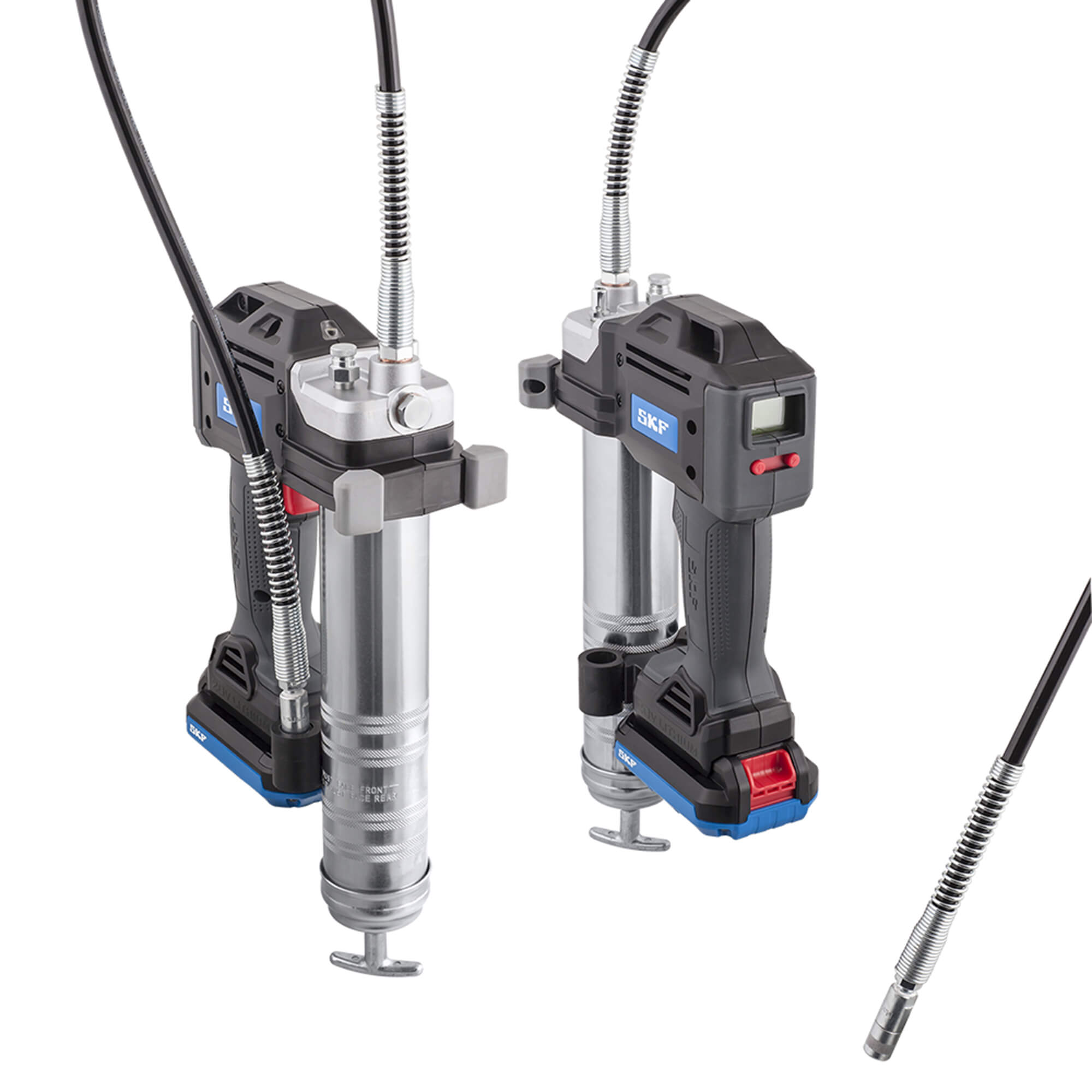 Electric Grease Gun Skf Unwraps A Battery Driven Grease Gun