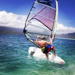 Robby Naish old-school on new gear