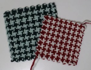 """5"""" and 4"""" Houndstooth Check squares"""