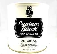Captain Black White Pipe Tobacco - 12 Oz Can
