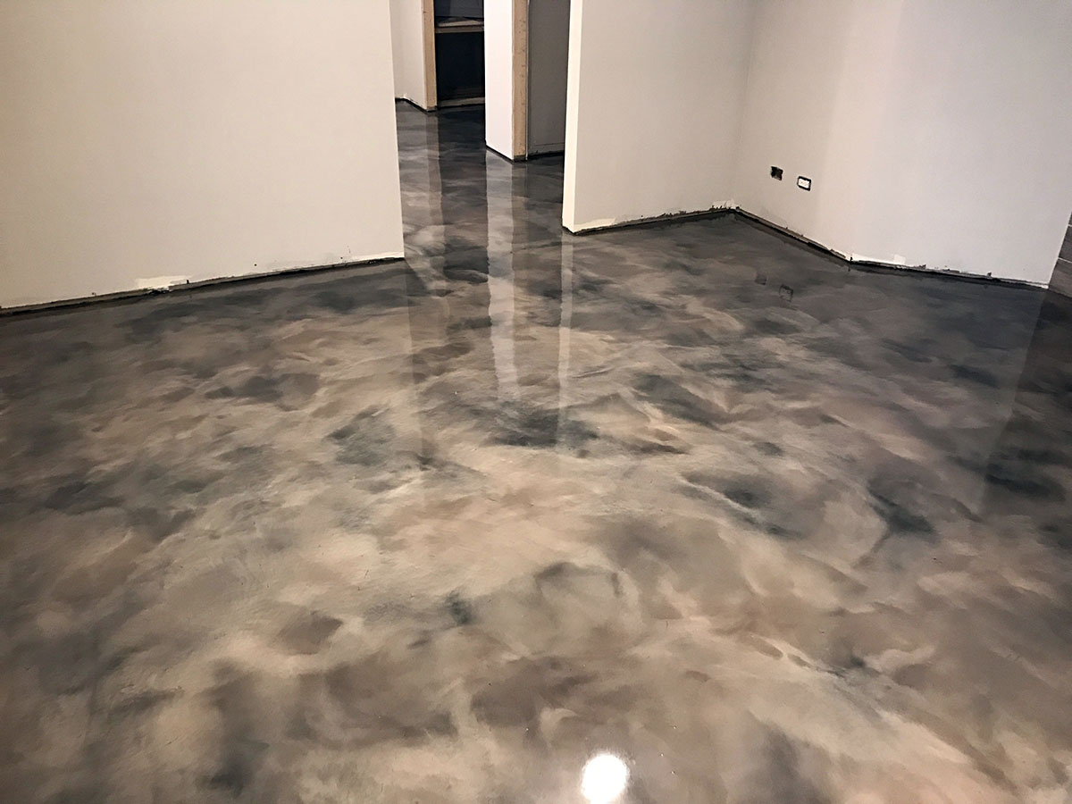Metallic Epoxy Windy City Coating Flooring Project Gallery Chicagoland