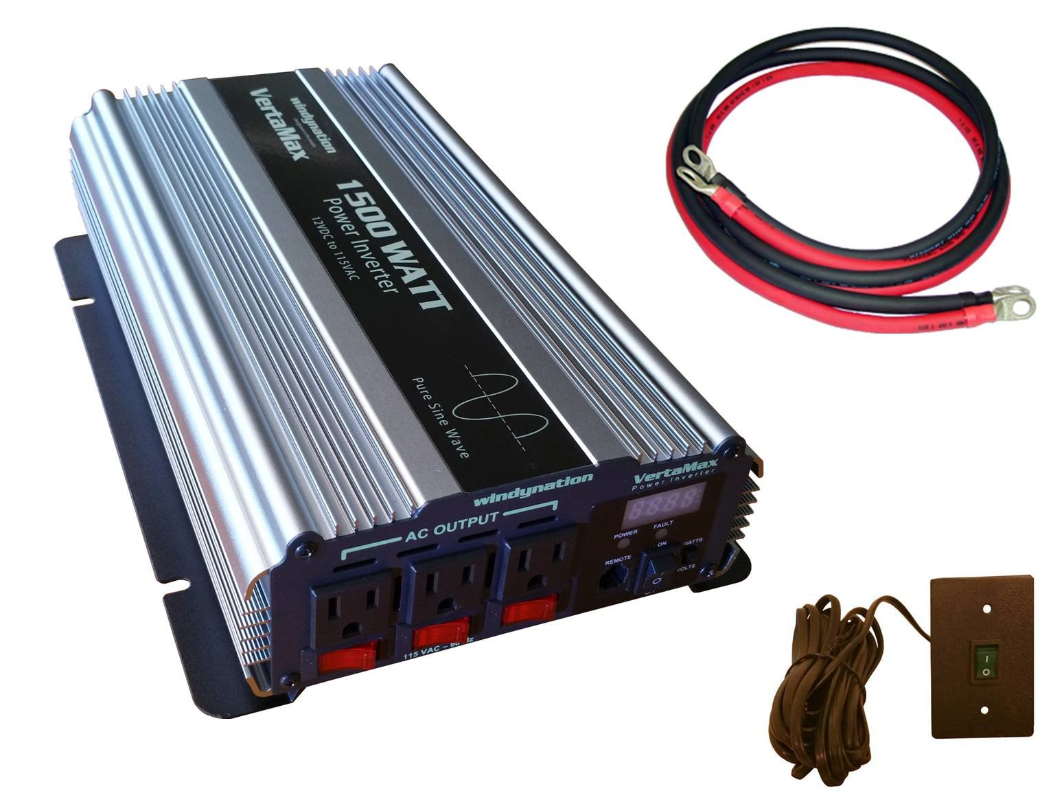 1000 Watt Pure Sine Wave Inverter Vertamax 1500 Watt 12 Volt Pure Sine Wave Power Inverter Dc To Ac W Lcd Display