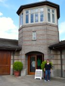 Outside the Adelsheim tasting room