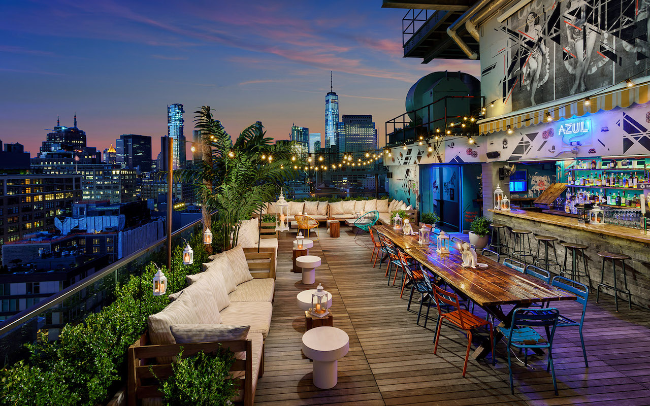 The Best Rooftop Bars In Nyc Wine4food