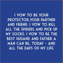 Small Of Vows For Her